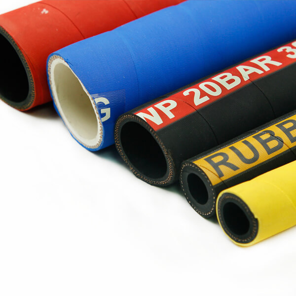 Mandrel built wrapped cover rubber hose-3