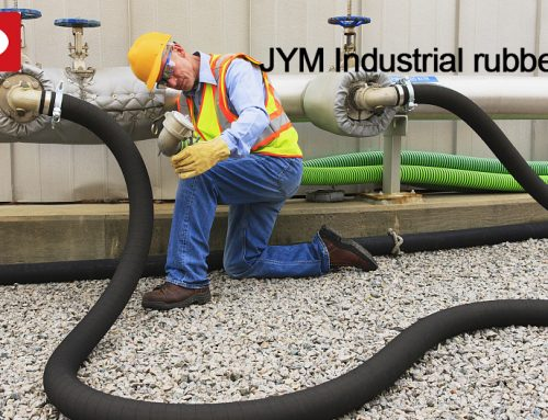 Flexible and soft rubber water hose from JYM