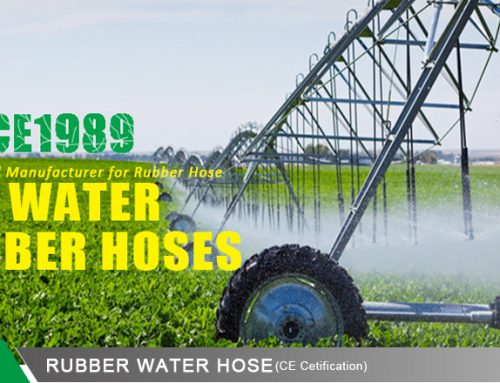 JYM Rubber Water Hose Applications