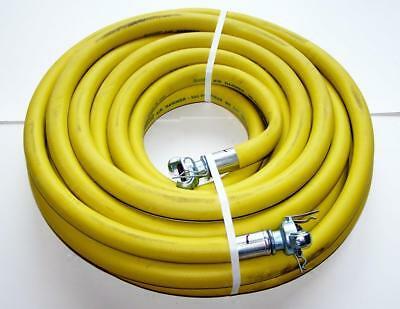 Jackhammer air hose yellow