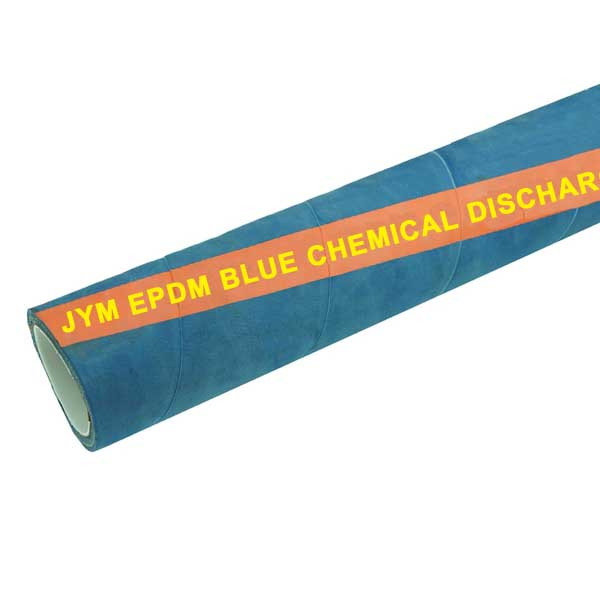 EPDM blue chemical discharge hose