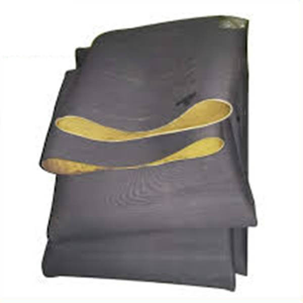 NR rubber tubing for abrasive materials