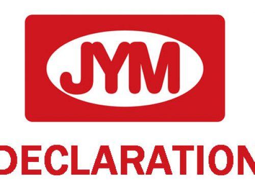 JYM Declaration